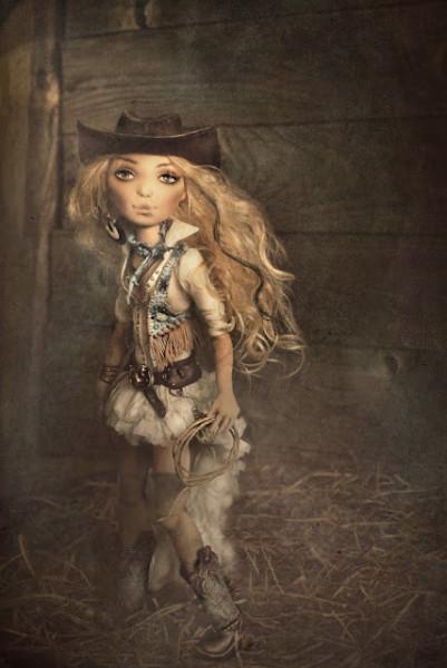 Текстильная кукла Серена Яны Яхиной