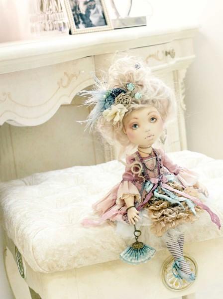Кукла Грейс. Автор: Яна Яхина
