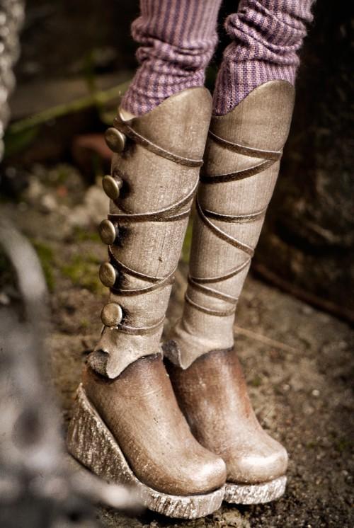 Стимпанк-принцесса Гала. Сапожки для принцессы
