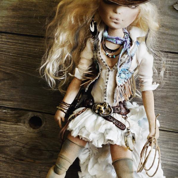 Текстильная кукла Яны Яхиной