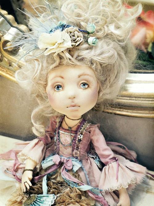 Текстильные куклы Яны Яхиной