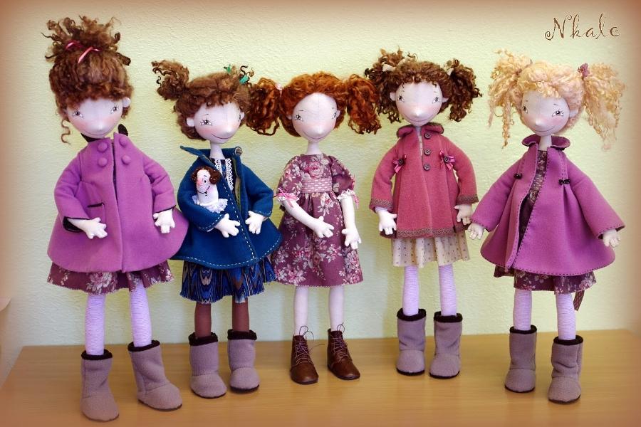 Куклы войнатовской выкройки