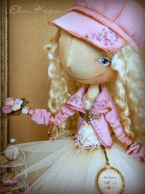 Елена Коган. Кукла Анжелика