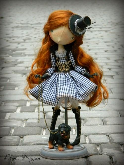 Елена Коган. Кукла Лара