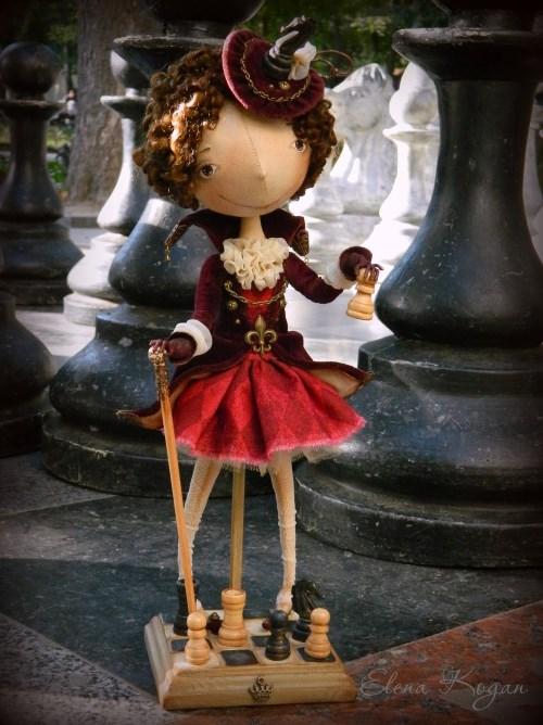 Елена Коган. Кукла Виктория. Шах и мат