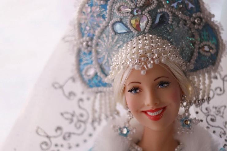 Снегурочка кукла Ларисы Исаевой
