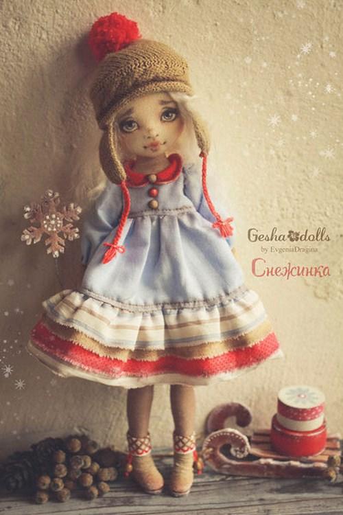 Кукла Снежинка