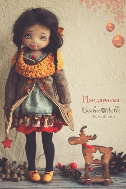 Кукла Мандаринка