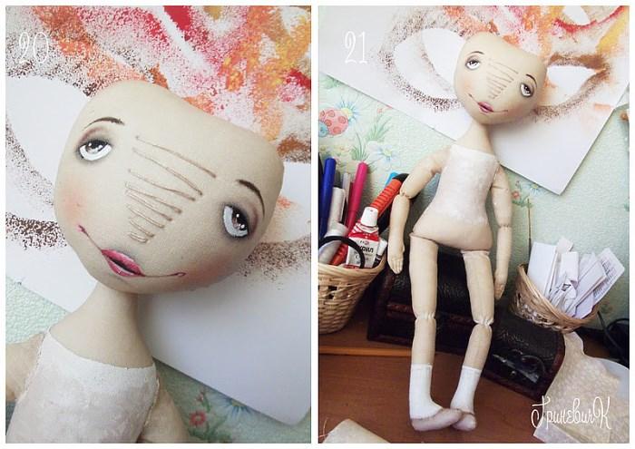 МК Лицо куклы