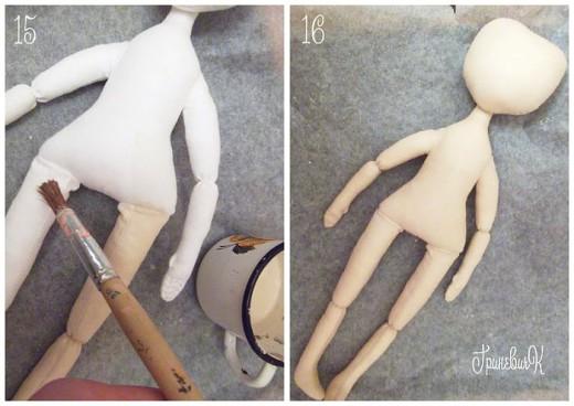 Как сделать текстильную куклу мастер-класс