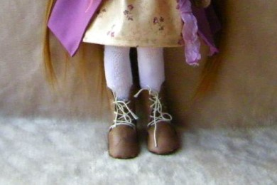 МК: шьем ноги для куклы
