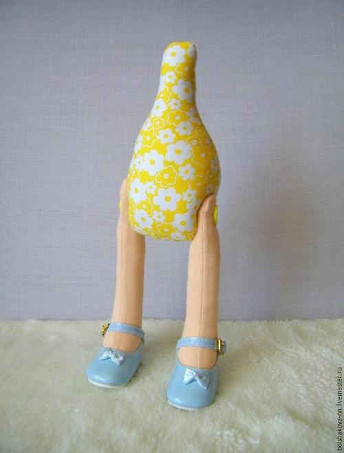 МК ножки для текстильной куклы