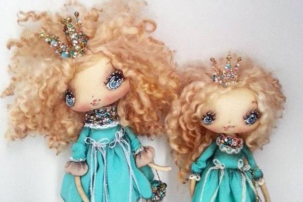 Маленькие куколки Оксаны Дадиани