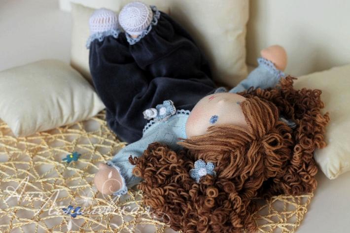 Волосы для кукол: из чего и как сделать