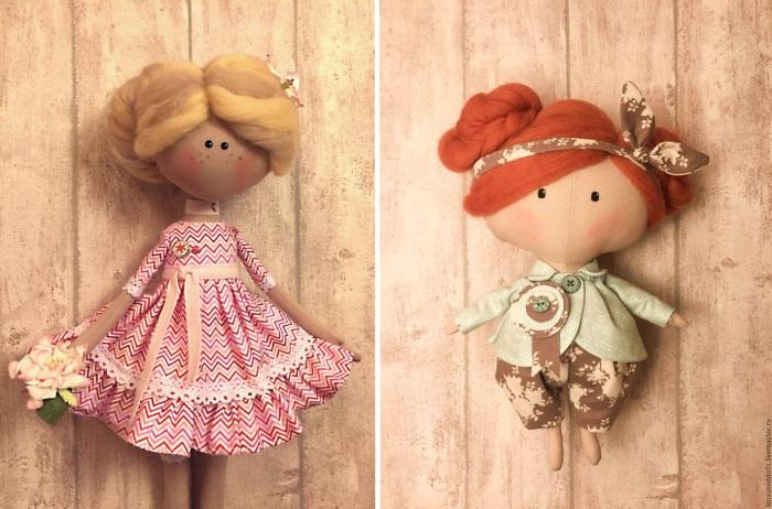 Купить пряжу для волос куклы