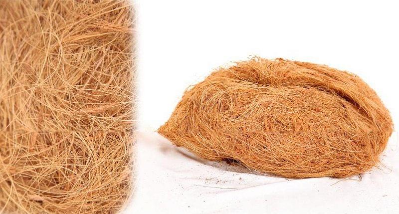 Кокосовое волокно для кукольных волос