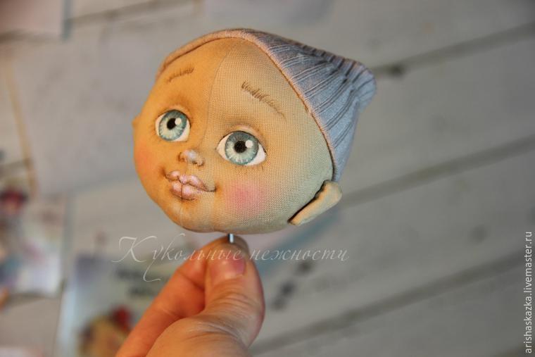 Как прикрепить голову куклы правильно