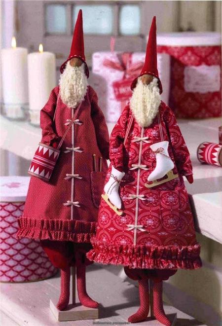 Дед Мороз Тильда