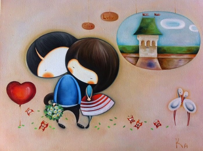 Картина: Любовь и Львов
