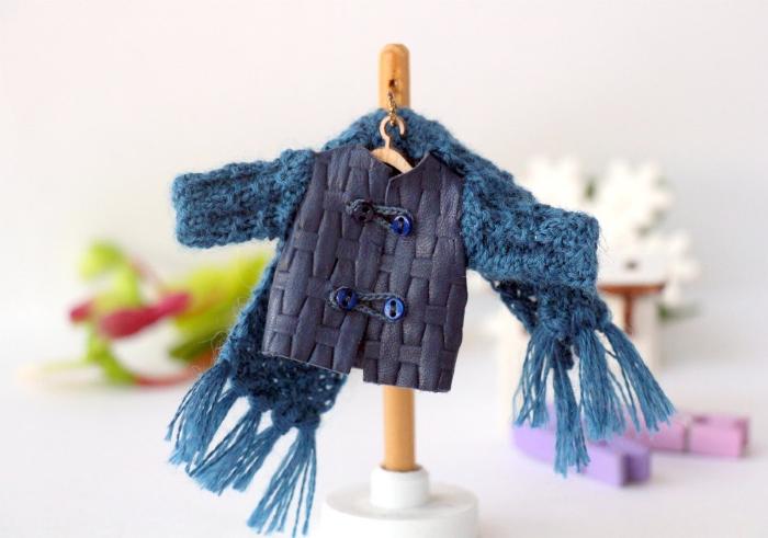 Курточка для маленькой куклы от Creativhook