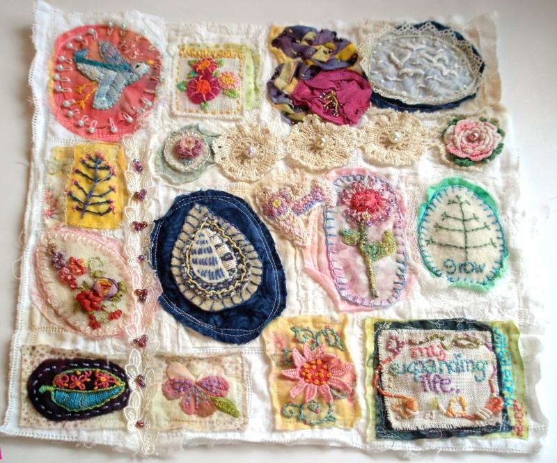 Примеры разных видов вышивки