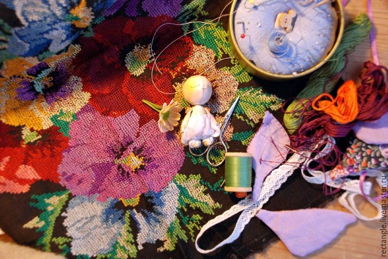Инструменты и материалы для вышивания