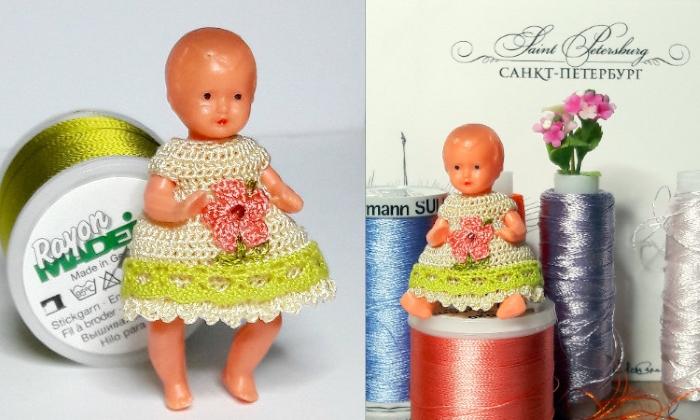 Одежда для маленьких кукол от Ольги Урывской