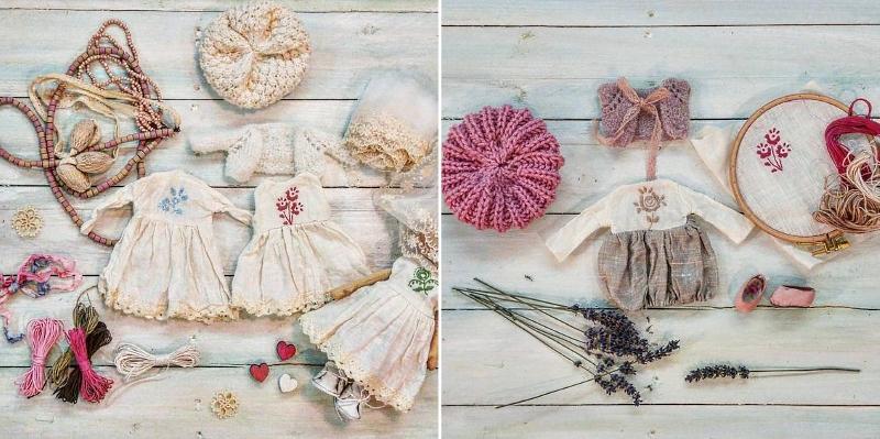 Красивая одежда для кукол от @tanyarusan