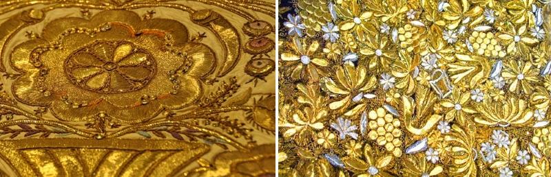 Золотое шитье, канитель