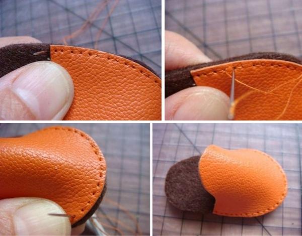 Выкройка ботиночек для кукол