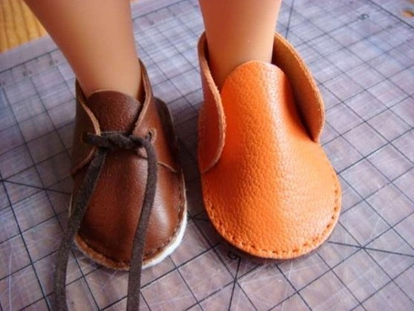 ботиночки для средних кукол