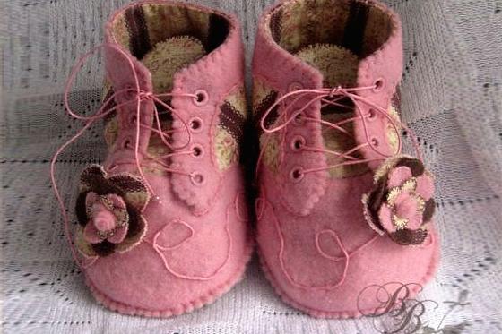 МК: ботиночки для куклы, сайт http://all-dolls.net