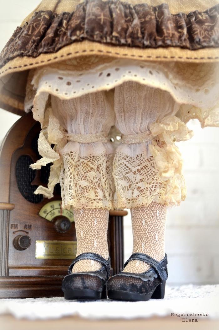Белье и обувь для куклы Капочки. Автор: Елена Негороженко