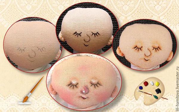 куклы с нарисованным лицом выкройка