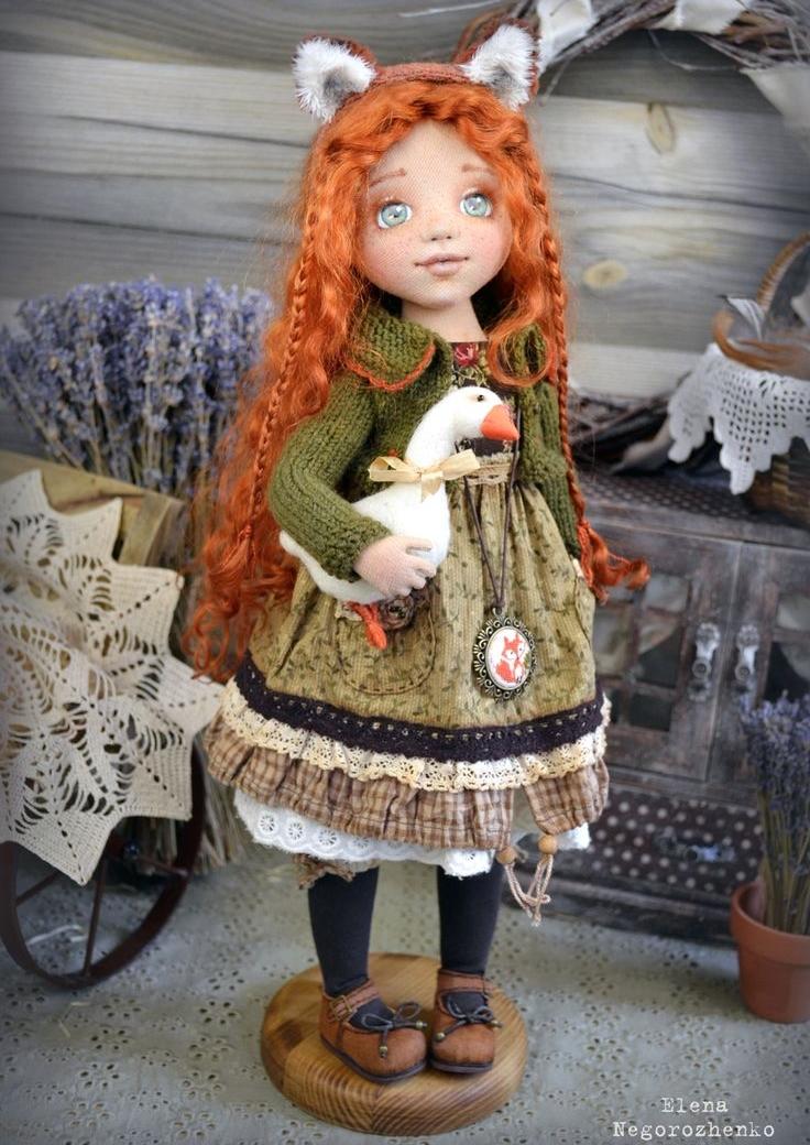 кукла из материи