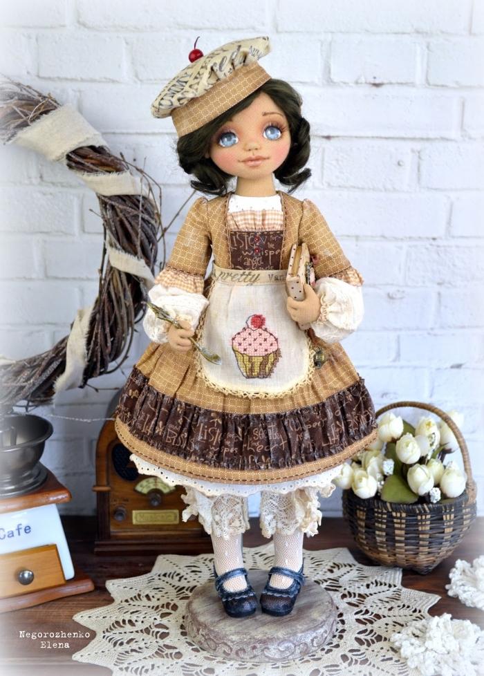 Кукла Капочка. Автор: Елена Негороженко