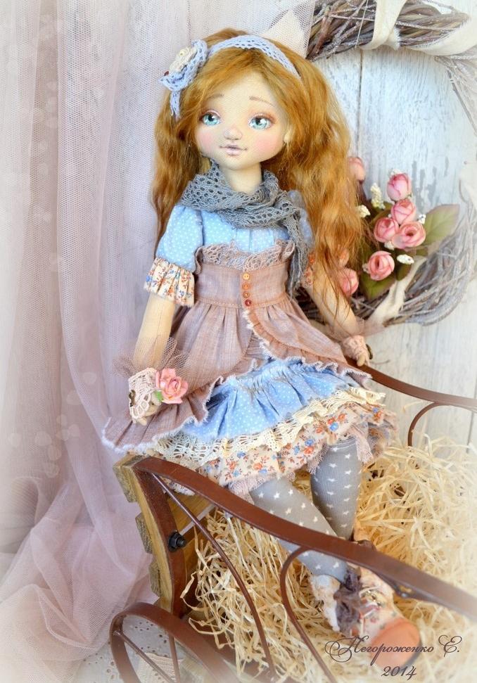 Кукла Елены Негороженко