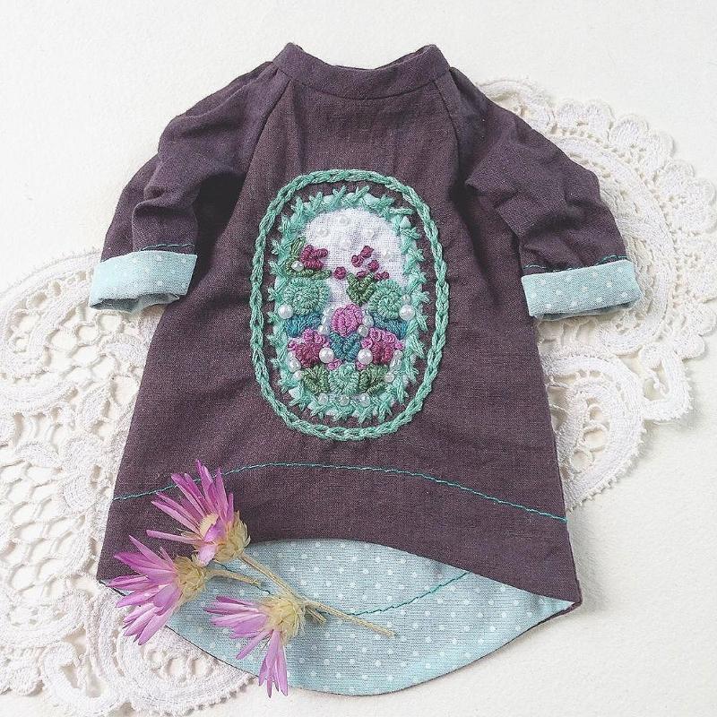 Платье для куклы от Дины Крыловой