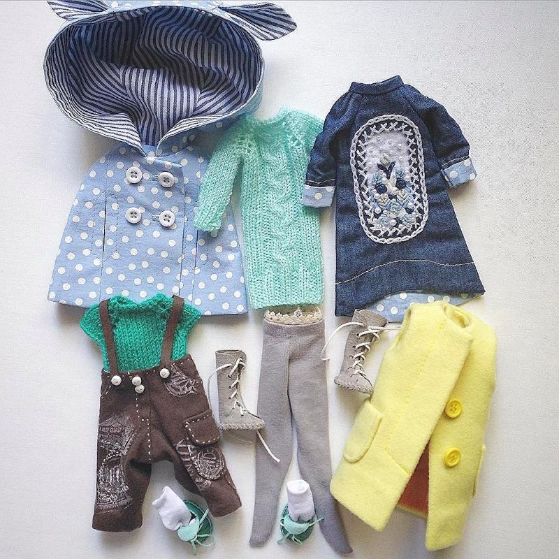 Одежда для кукол от Дины Крыловой