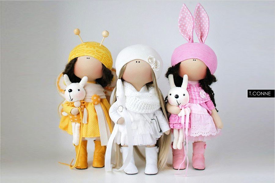 Куклы Татьяны Коннэ