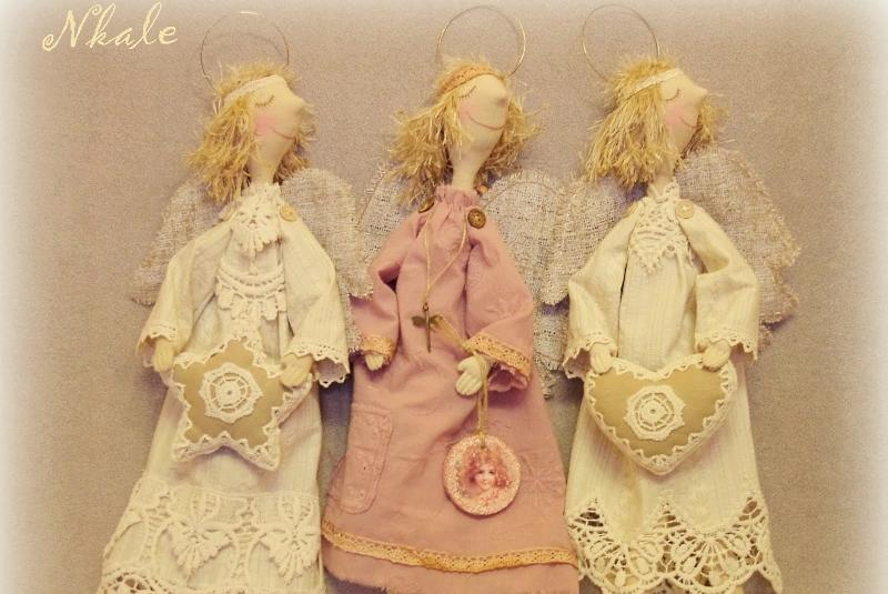 Мастер-класс Nkale кукла ангел