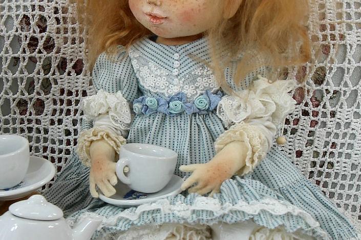 МК: маленькие пальчики для куклы