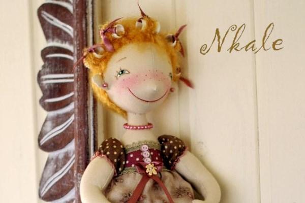 Мастер-класс от Nkale: бигуди для куклы