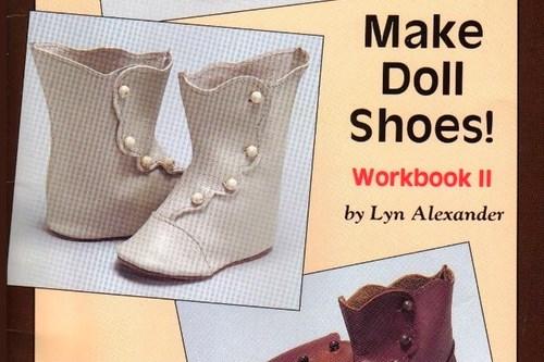 Книга: создавай обувь для кукол!