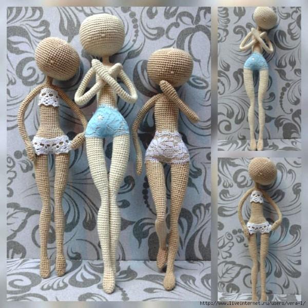 Вязаные куклы-амигуруми МК