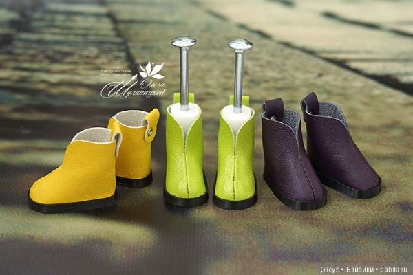 Обувь для куклы Паолы