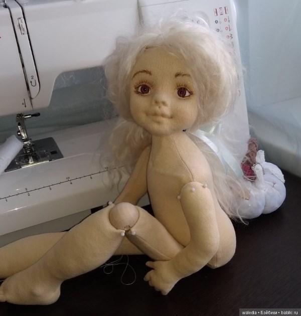 Куклы из ткани от Waledia