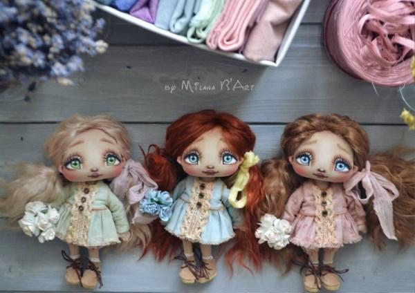 Куклы Миланы Баратовой