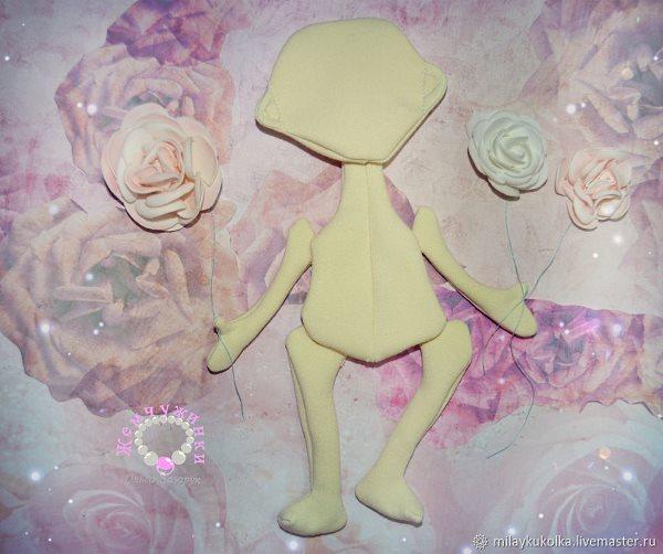 Как сшить куклу из ткани