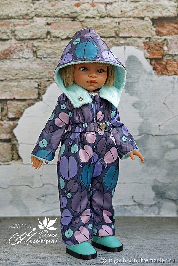 Комбинезон для куклы мк